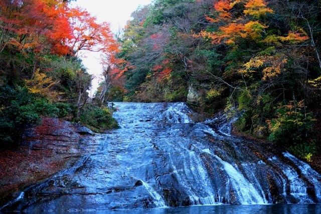 養老渓谷紅葉 粟又の滝